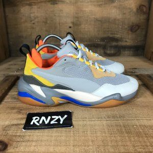 Puma Thunder Spectra Low Top Gray Sneaker Shoes